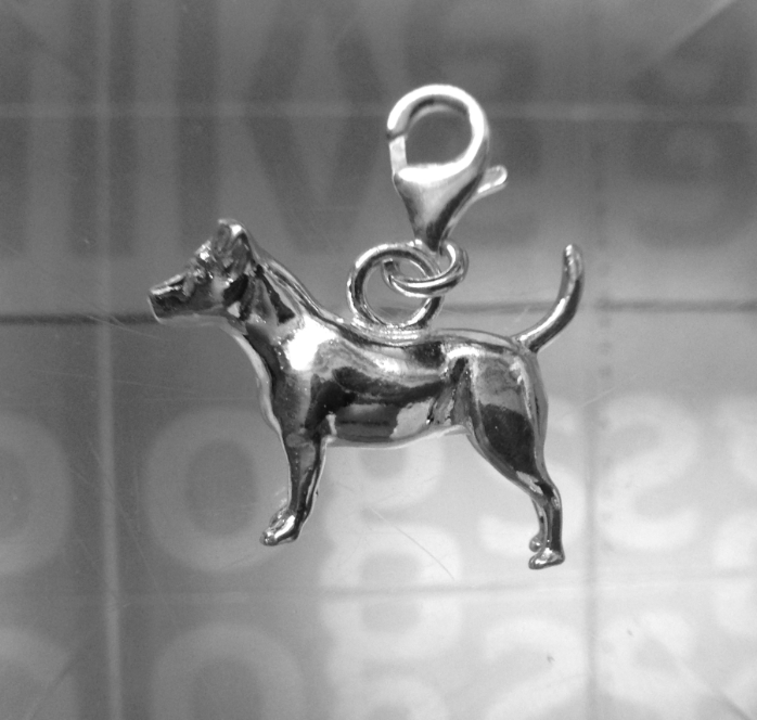 Jack Russell Pendant and Chain
