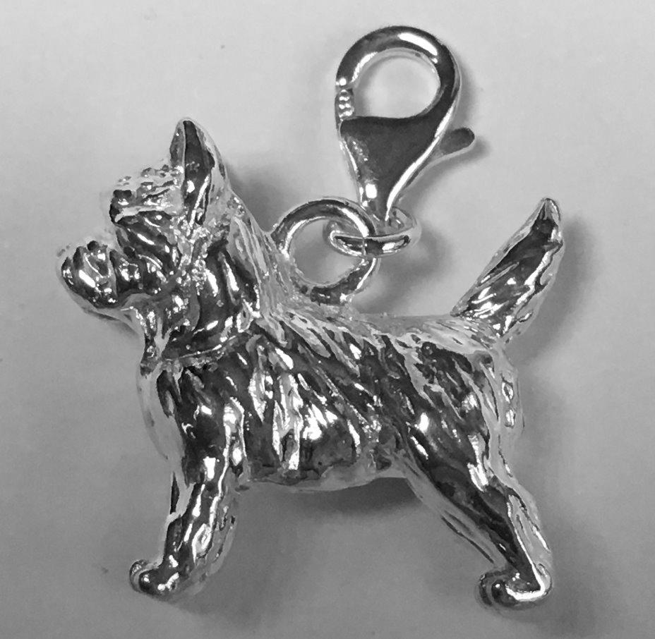 Cairn Terrier Charm Bracelet
