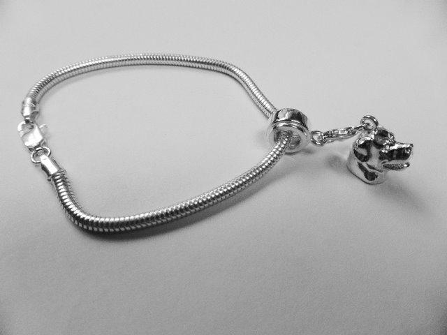 Rottweiler Charm Bracelet