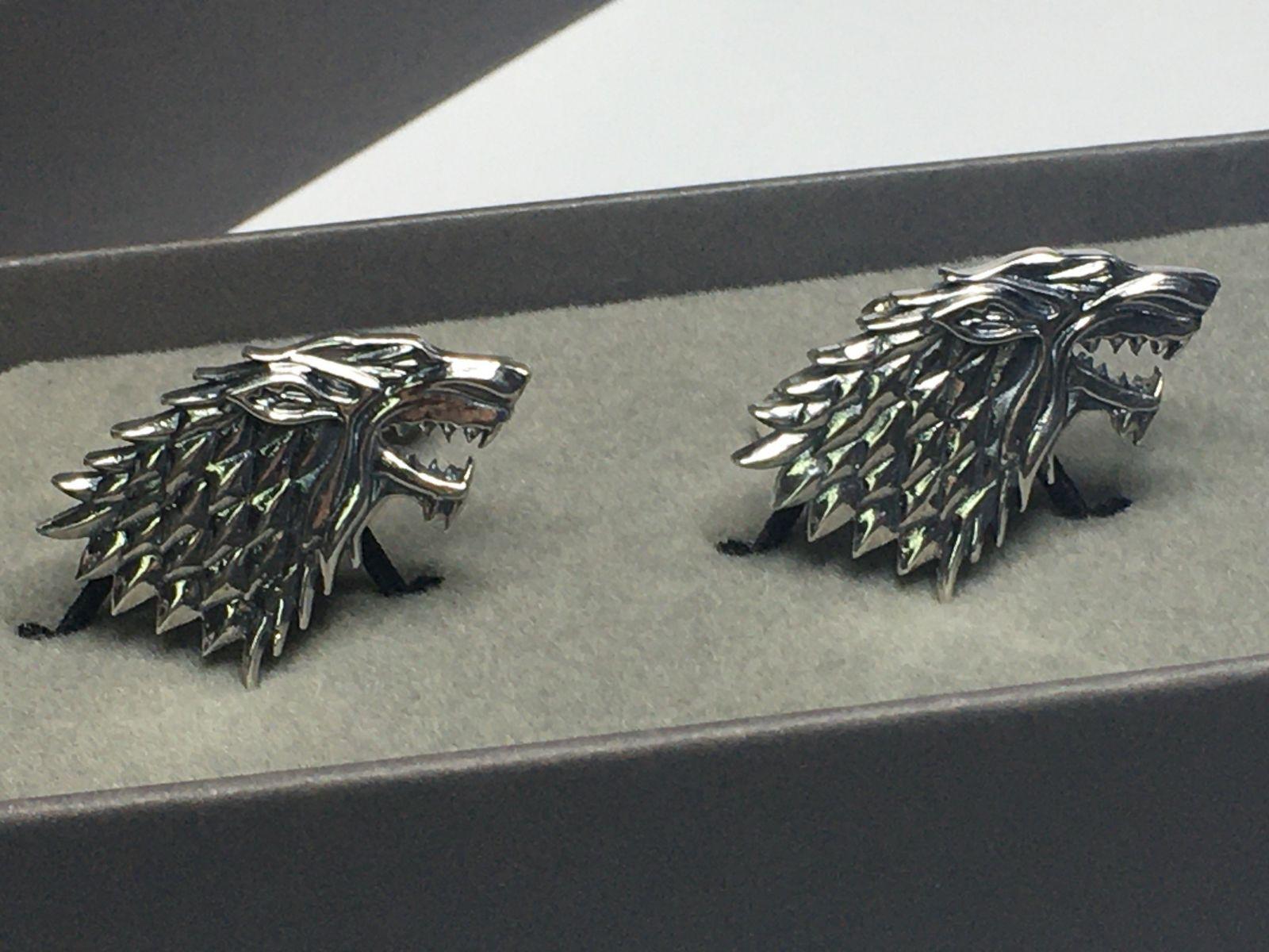Dire Wolf Cufflinks