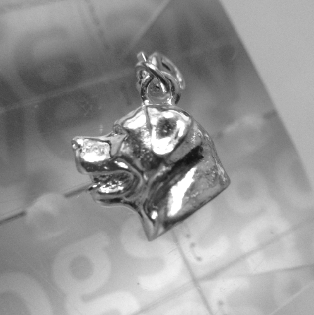 Rottweiler Charm - Head