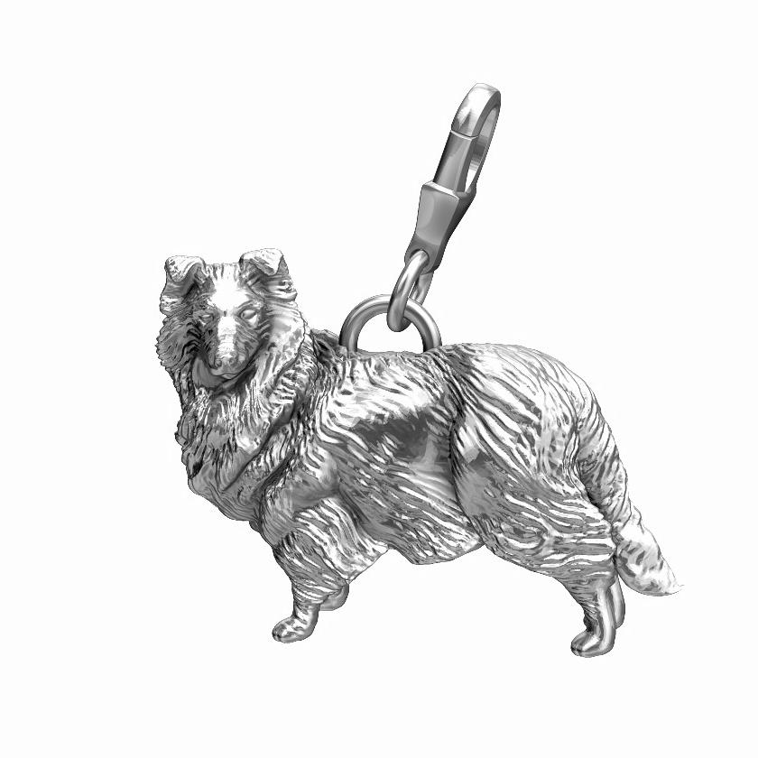 Shetland Sheepdog Charm - Sheltie Collie