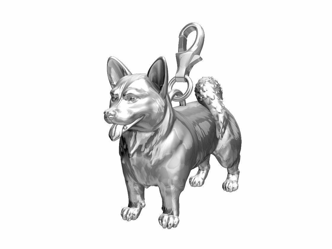 Corgi Dog Charm