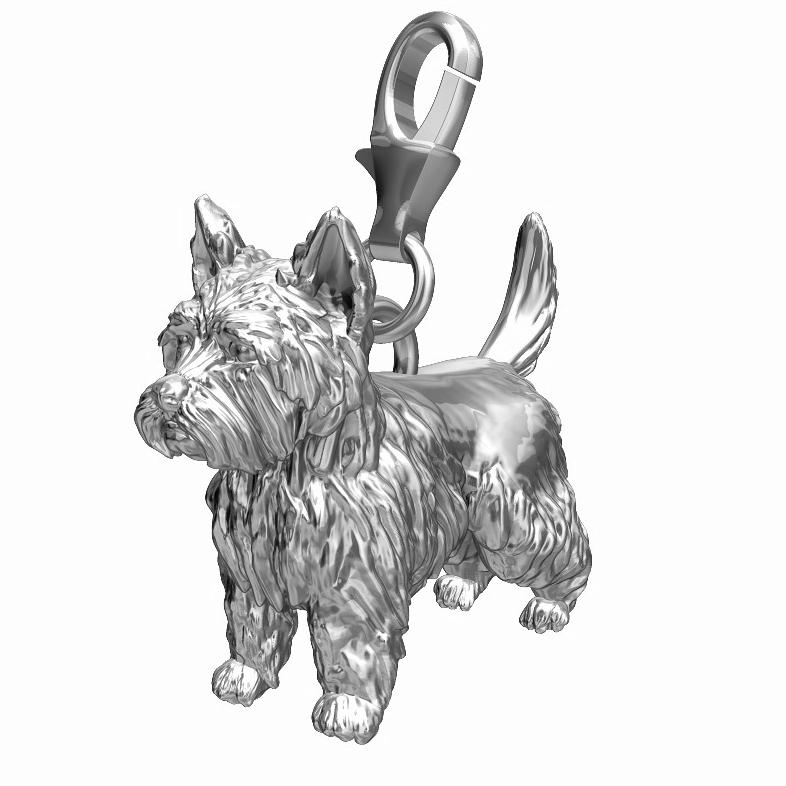 West Highland Terrier Charm - Westie
