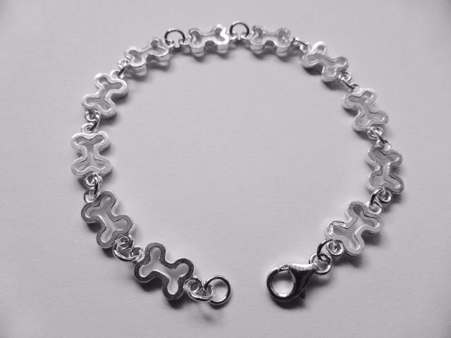 Bone Charm Bracelet