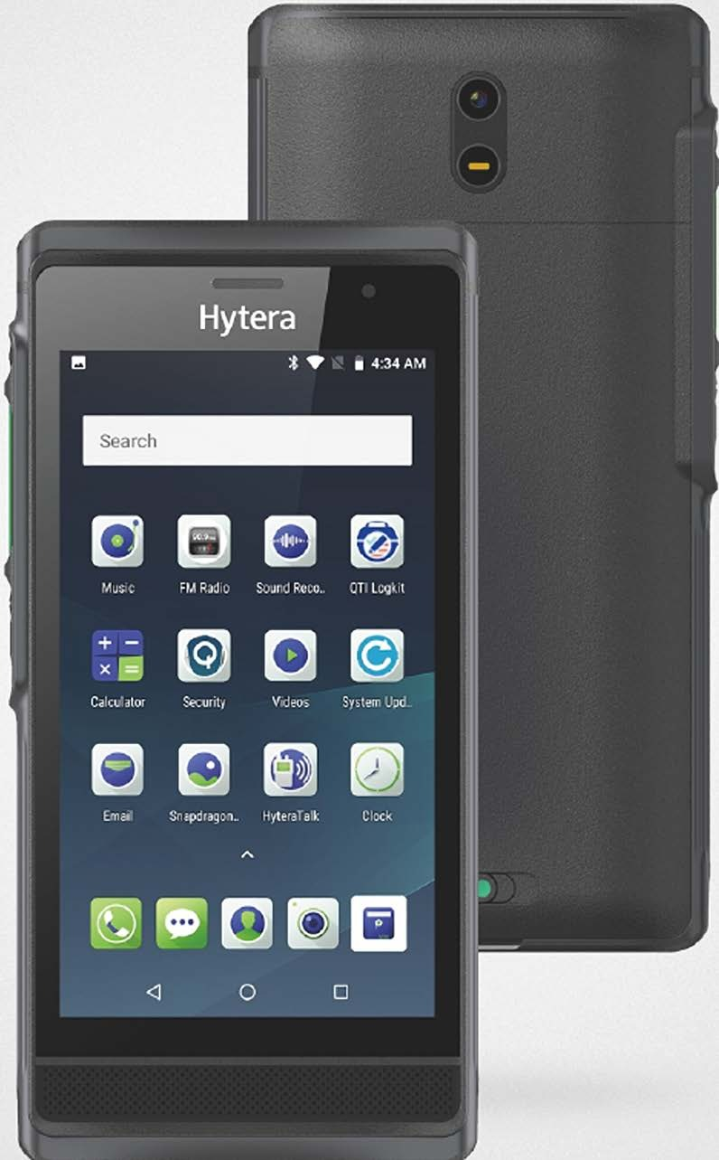 Hytera PNC550 Rugged Android Portable