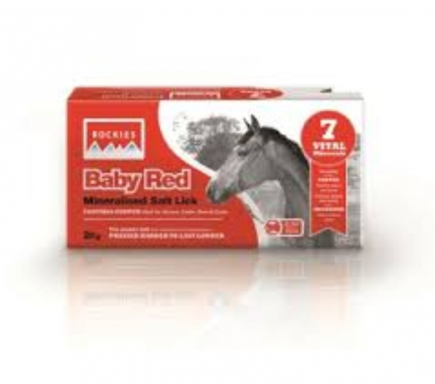 Rockies Baby Red Mineral Lick