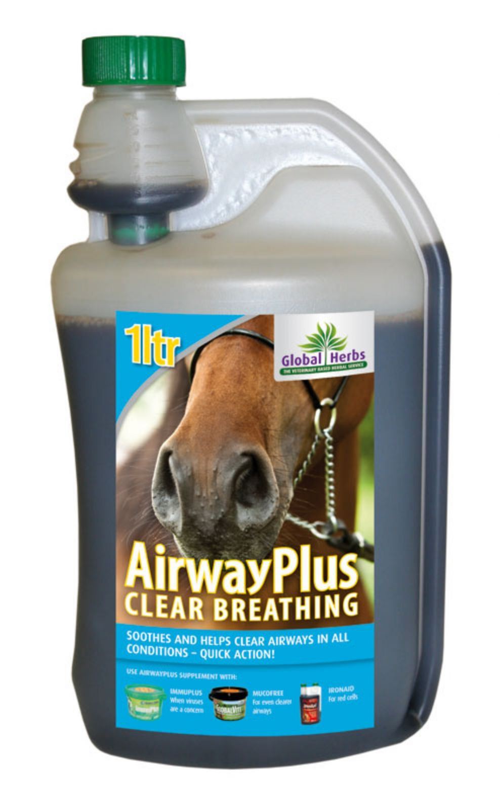 Global Herbs Airways Plus 1ltr Liquid