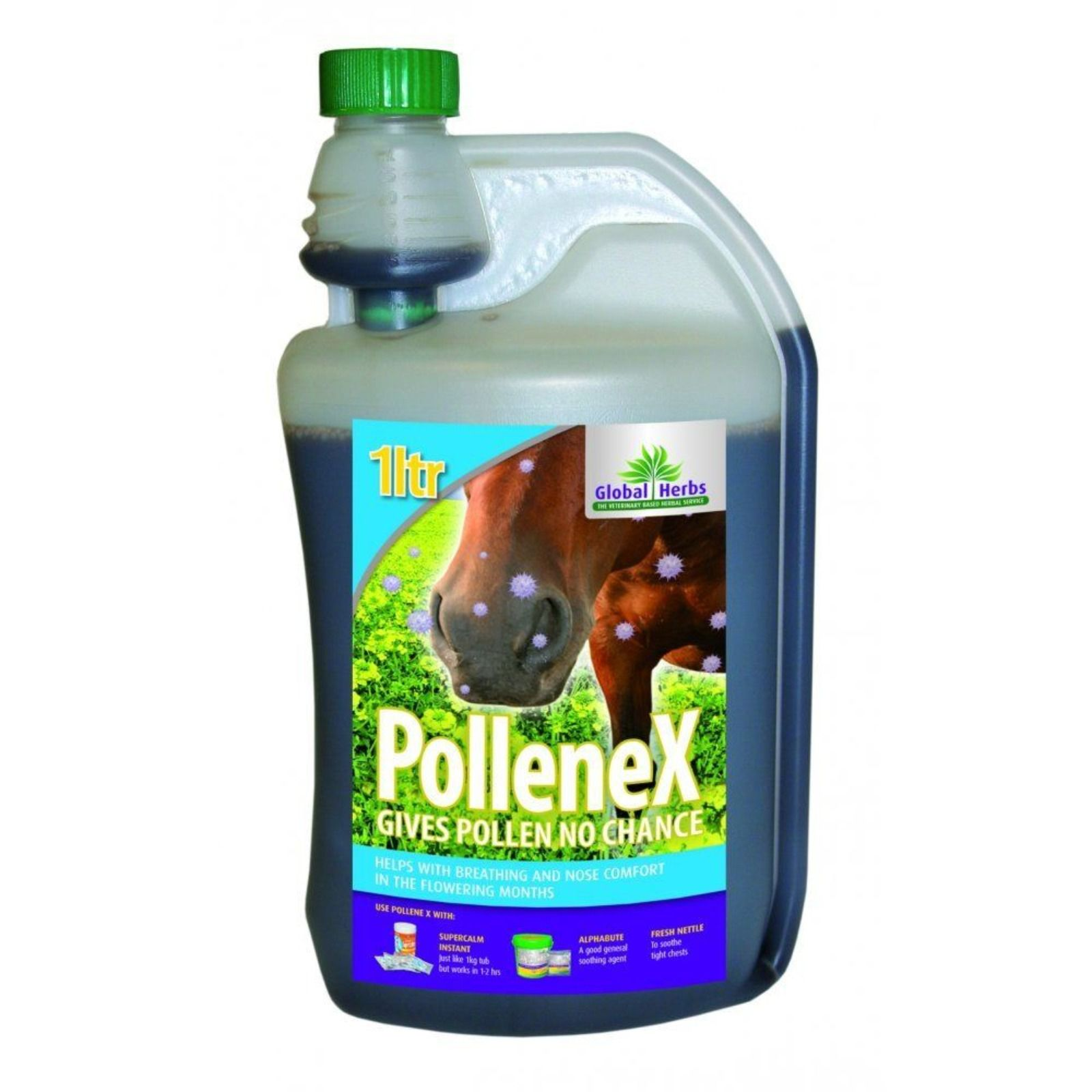 Global Herbs Pollene X Syrup 1lt
