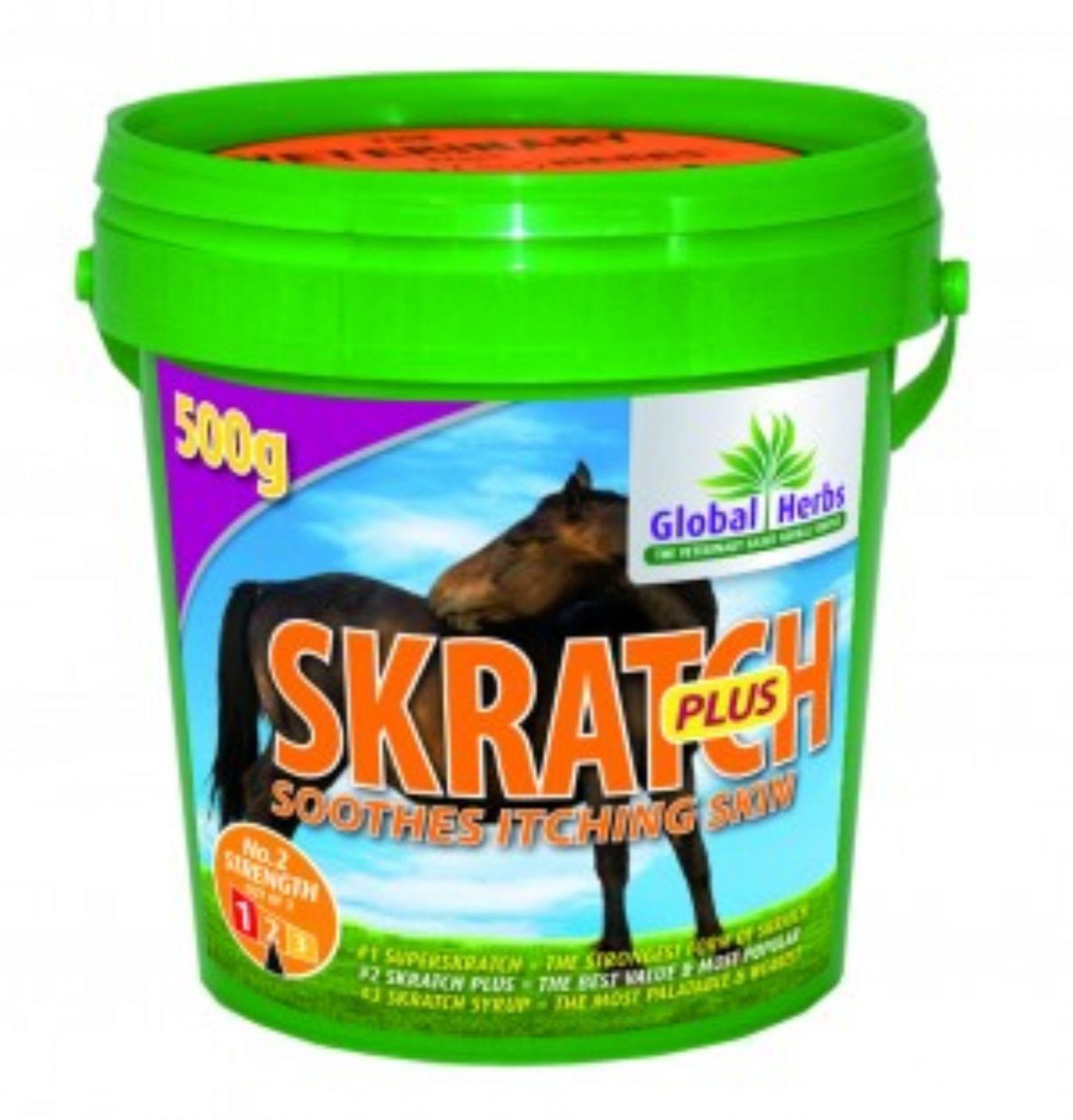 Global Herbs Scratch Plus 500G