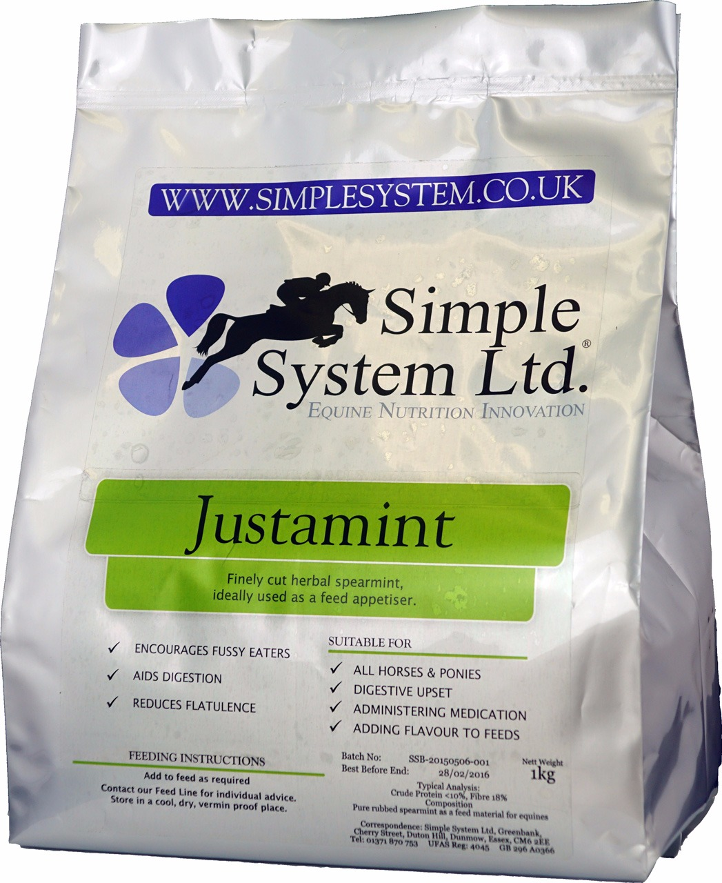 Simple System Just a Mint 1 Kg