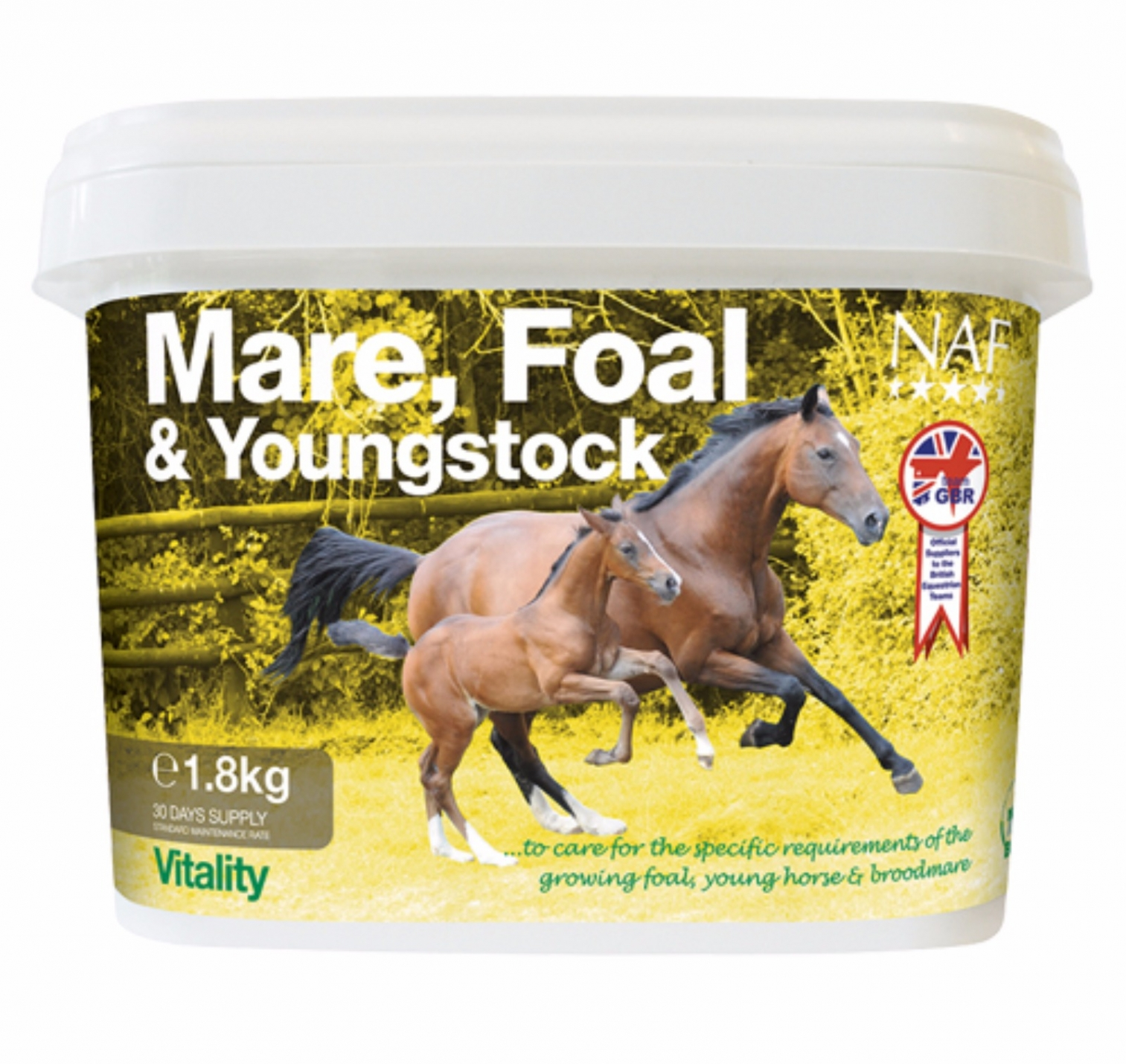 NAF Mare, Foal & Youngstock Supplement 1.8 Kg