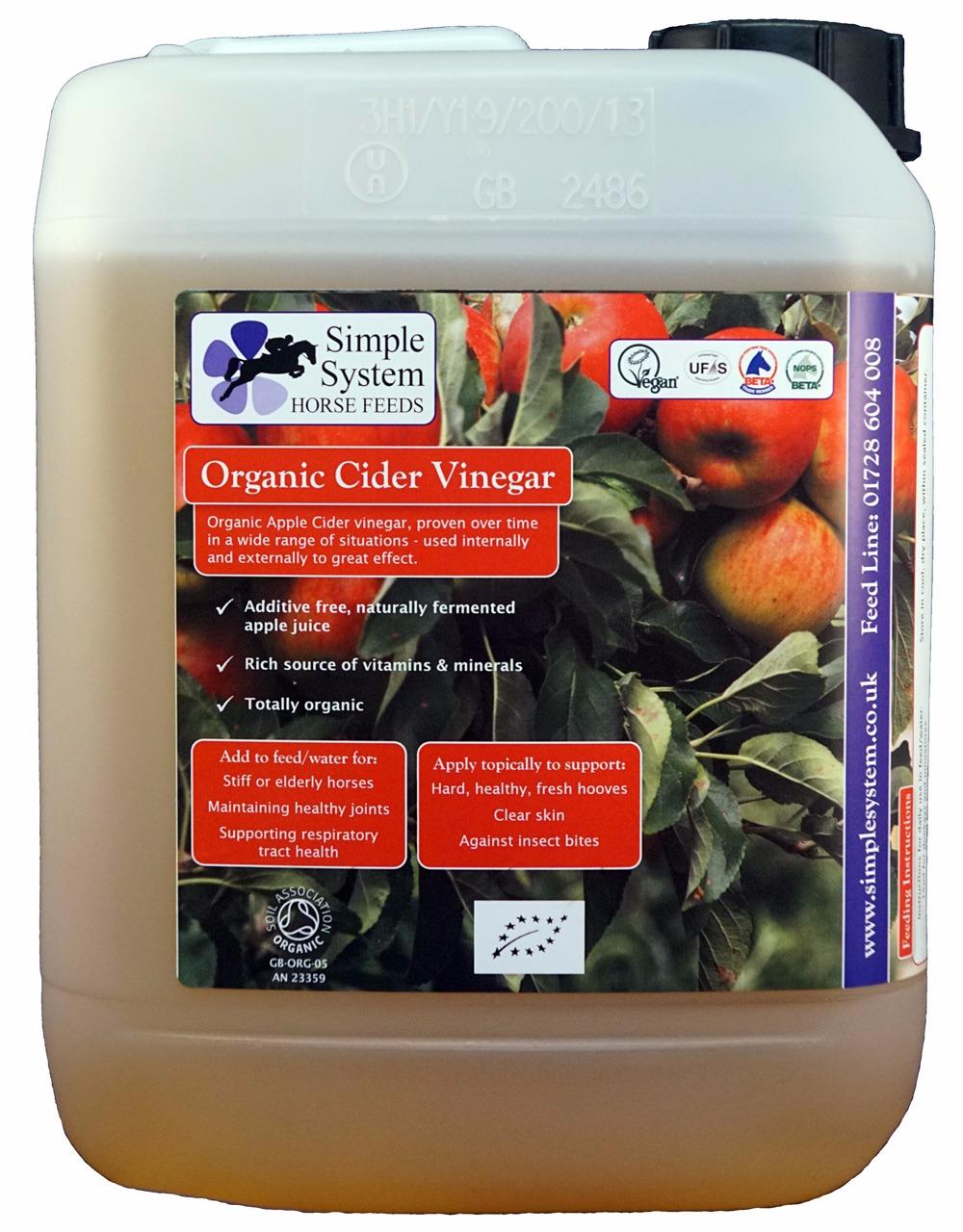Simple System Organic Cider Vinegar
