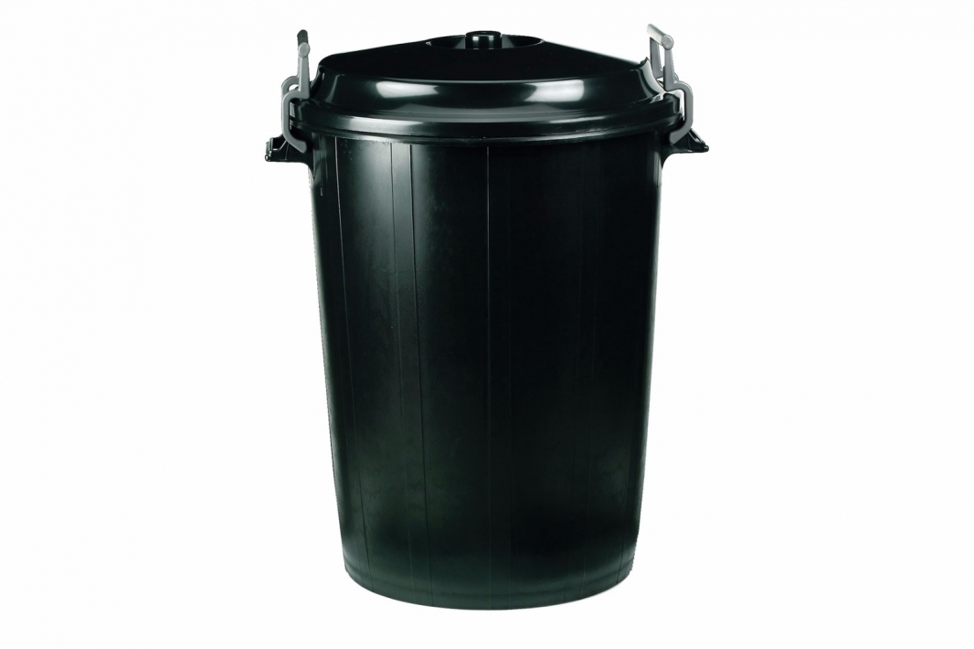 Dustbin with Locking Lid