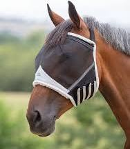 Shires Fly Mask Fine Mesh Earless