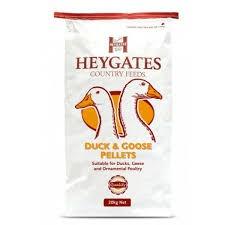 Heygate Duck, Goose & Ornamental Poultry Pellets