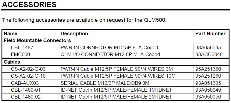 Quick Link QLM500