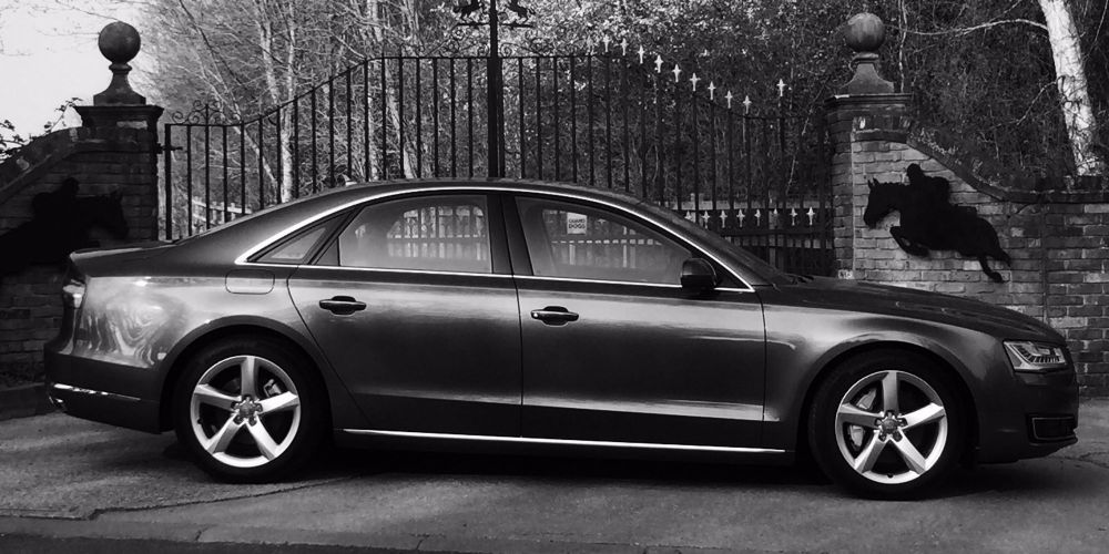 London Security Drivers new Fleet of Audi A8s