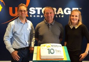 UK Storage Company Is 10 Years Old
