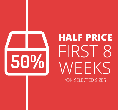 50% Off 8 Weeks Storage