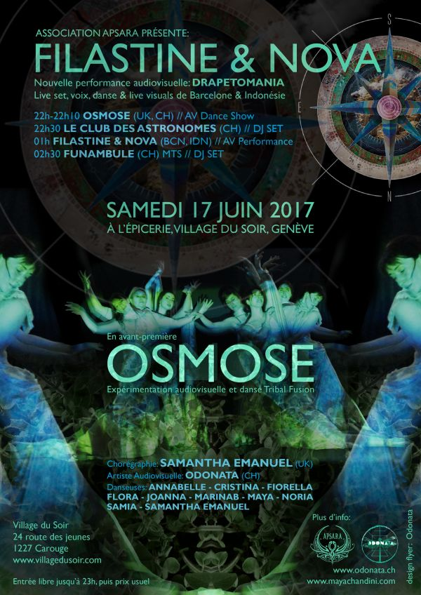 Osmose Premier in Geneva June 17th 2017
