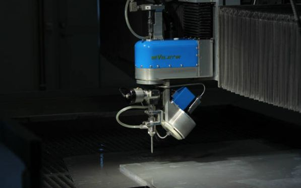 New BevelJet 60 5 axis waterjet cutting head released