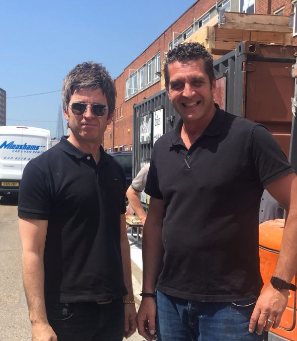 Oasis singer supports WJS customer